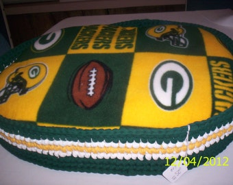 """Dog Bed **green bay packers"""""""