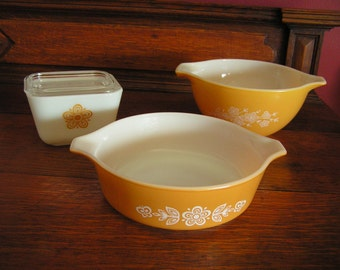 Butterfly Pyrex Bowls