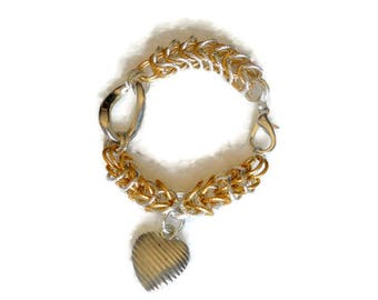 Persian Jewelry Chain maille Bracelets Jump rings bracelet