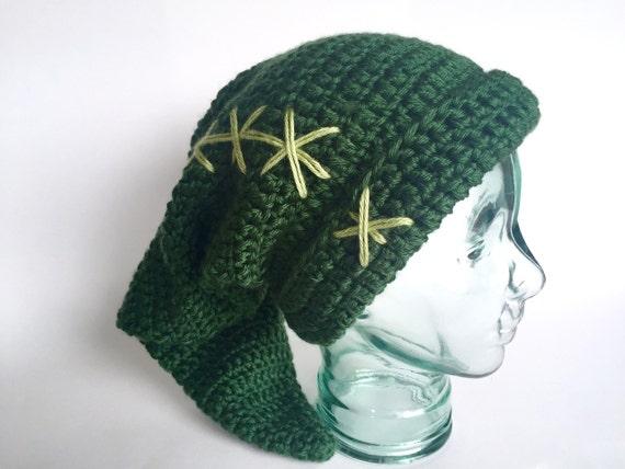 Legend Of Zelda Link Hat Knitting Pattern : Link hat Legend of Zelda handmade crochet Child Adult