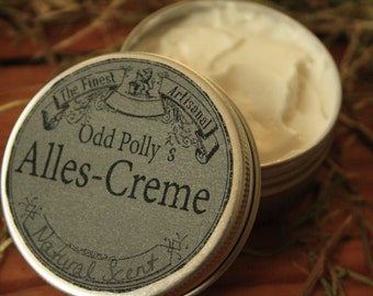 Odd Polly of all-cream 50 ml, face cream, body lotion, hand cream, natural cosmetics, Shea butter, coconut oil