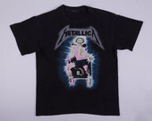 "Metallica ""Kill Em' All"" Tour Band Tee Shirt"
