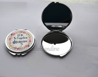 "double Pocket mirror ""and I call you godmother?"""