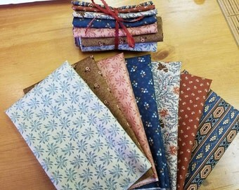 Brand New Jo Morton Moda Fat Quarter Bundle Reflections Civil War Reproduction Fabric