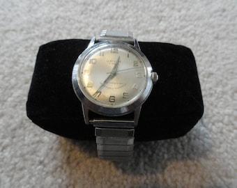 Orvin 21 Jewels Vintage Wind Up Men's Watch