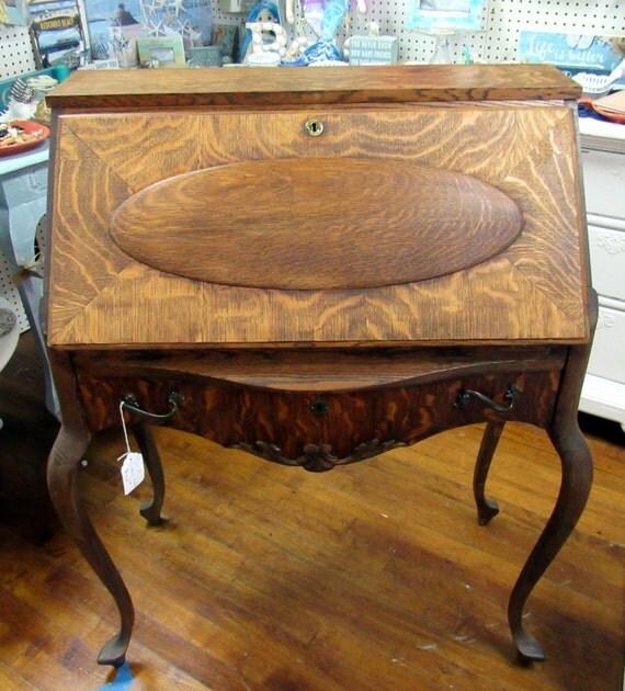 Tiger Oak Desk
