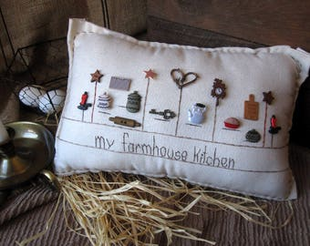 My Farmhouse Kitchen Pillow (Cottage Style)