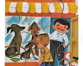 1940s Playskool Pet Shop Jigsaw Puzzle