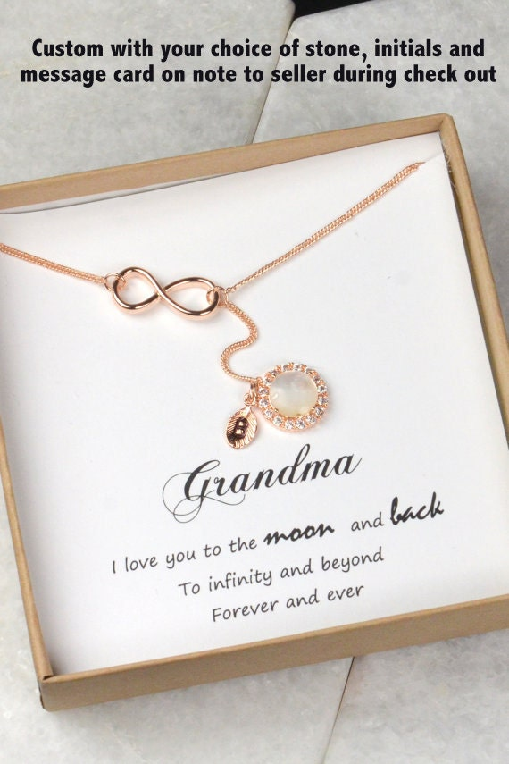 Gifts for grandma personalized womens personalized necklace for Grandmother jewelry you can add to