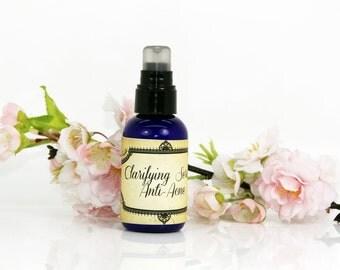 """Clarifying serum """"Anti-acne"""", anti-acne serum, acne treatment serum, acne treatment, oily skin serum, acne prone skin serum"""