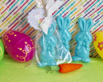 10 Easter Soap  Party Favors- WITH or WITHOUT Tags and Ribbons.