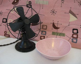 Retro Ceramic Bowl, Speckled Pink Bowl, Glass Bowl From Made Of Flaws