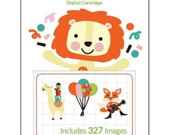 Cricut Digital Cartridge BIRTHDAY BASH 327 Images for Cricut DESIGN Space 2003789 - cc04 DG007