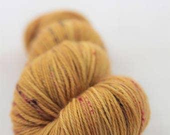 Hand-dyed yarn - sock yarn - superwash - merino - speckles - POLLEN 2.0