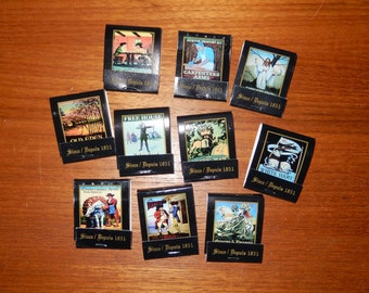 "Set of 10 Matching Vintage Matchbooks with from the ""Pub Signs Collector Series"""