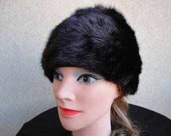 Mink Hat from Macy's Little Shop
