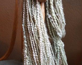 Pebbles in the Sand,  a handspun shetland wool yarn