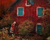 "Postcard ""Autumn tale"""