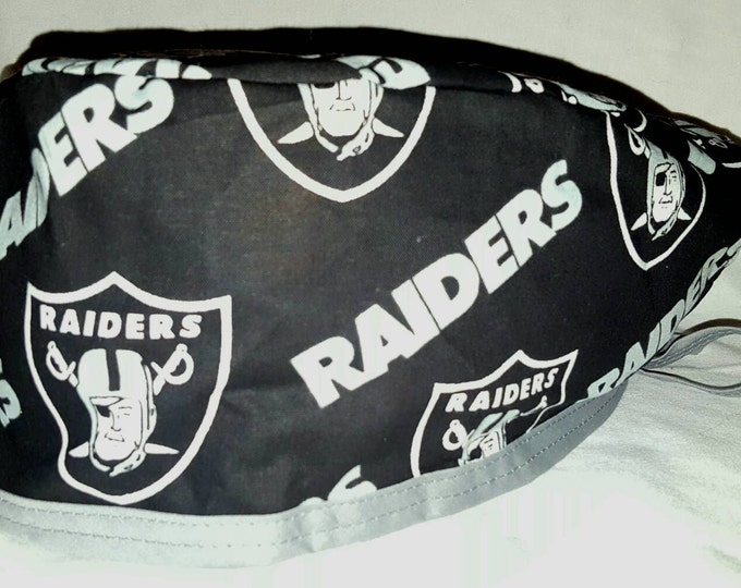 Raiders Surgical cap