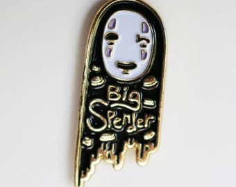 Big Spender (No Face Spirited Away Enamel Pin)