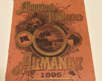 1895 American Farmers Almanac