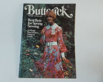 Butterick Home Catalog, Spring 1972