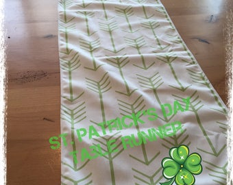St. Patricks day Table Runner