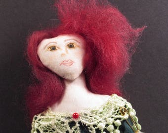 Fae Folk Art Doll