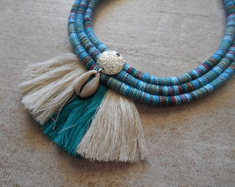 necklace  tassels  trendy bohemian ethnique