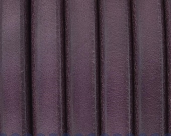 "Per 8""  Purple Licorice Leather for Licorice Leather Bracelets,"