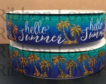 Hello Summer Collection USDR- Aqua/blue