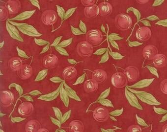 Sweet Cherry Wine fabric by Black Bird Designs.