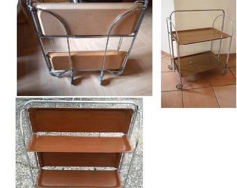 Cart trolley table on wheels trolley Tray cart