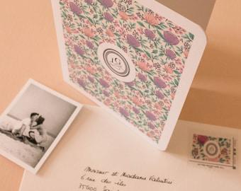 Wedding invitation Collection numero 01