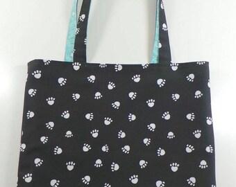 Mailman's Best Friend REVERSIBLE Everyday CANVAS Tote Bag
