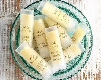100-149 Custom Lip Balm Favors, All Natural, Wedding Favors, Bridal Shower, Baby Shower, Birthday Party, Custom Labels Favors, Promotional I