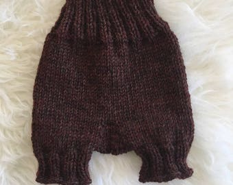 Knitted Baby Shorts