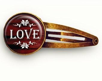 Love Hair Clip