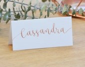 ORDER FOR AINSLEY - Custom Calligraphy Place Cards - Handwritten - Wedding