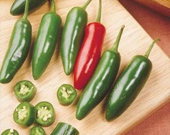 VPPH) SERRANO HOT Pepper~Seeds!!!!~~~~~~~For Your Hot Tamale!!!