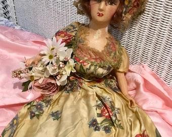 Lovely Antique, French Boudoir Doll