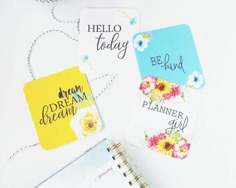 Planner Girl Planner Cards by Lavish Paper Co. for Erin Condren, Happy Planner, inkWell Press, LimeLife and more!