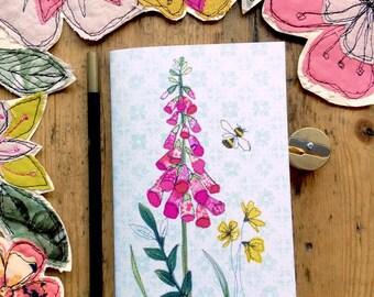 Pocket notebook- Foxglove