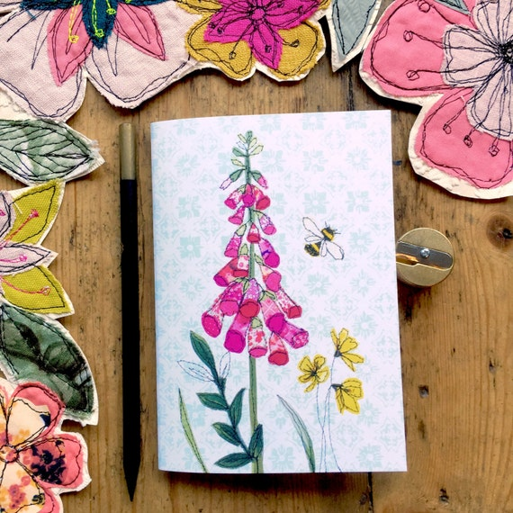 Pocket notebook- Foxglove