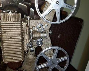Fantastic Vintage Revere 8 Projector from 1941 8mm Film Works with Case Model 85