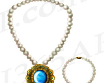 Pearl necklace – Etsy