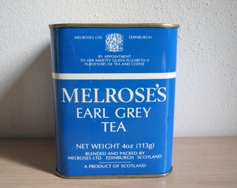 Melrose's Earl Grey Tea Tin