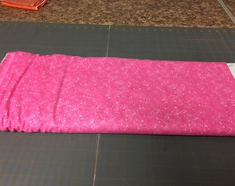 Fuchsia splitter splatter Fabric by the yard