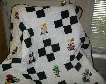 Baby quilt/throw