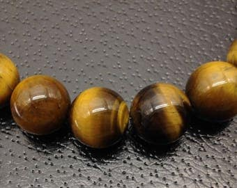 16mm Tiger eye bead necklace